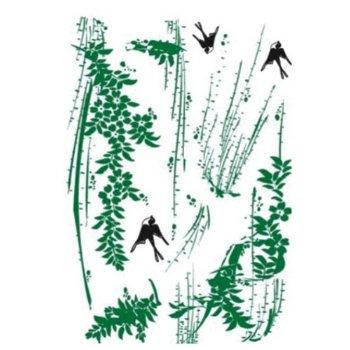 柳树和燕子的简笔画_柳树燕子荷花简笔画